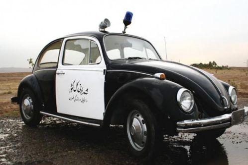 سیر تحول ماشین های پلیس ایران