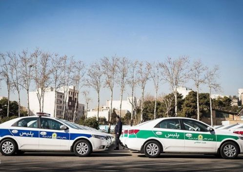 ماشین های پلیس ایران