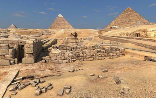 راز اهرام مصر