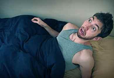 اگر از خواب پریدید، از جای خود بلند نشوید!
