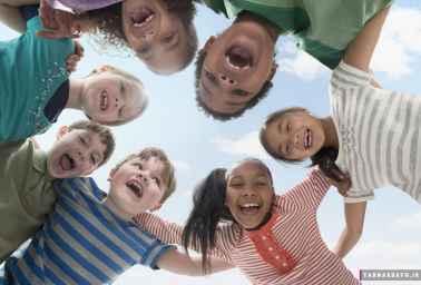 تربیت فرزندانی شاد
