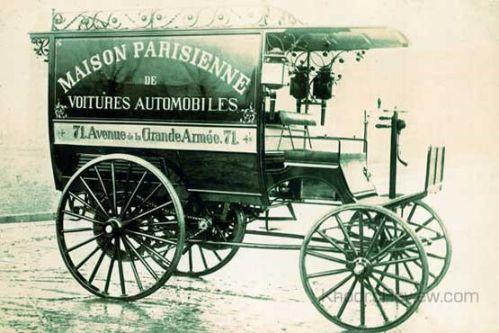 تاریخچه خودرو بنز