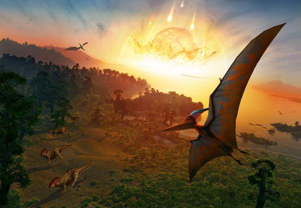 روزی که دایناسورها مردند