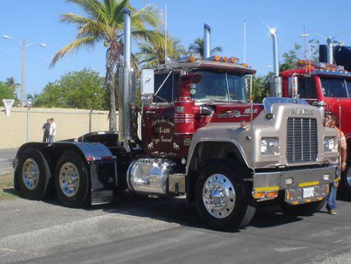 کامیون های نوستالژی و قدرتمند ماک سری R