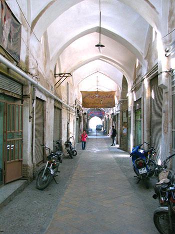 بازار پنجه علی یزد