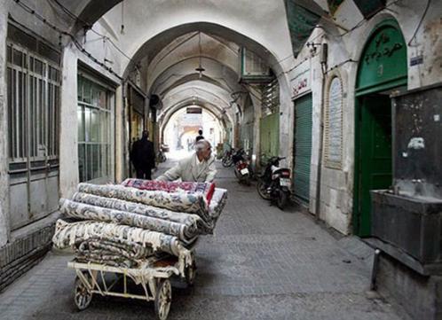بازار کاشیگری یزد