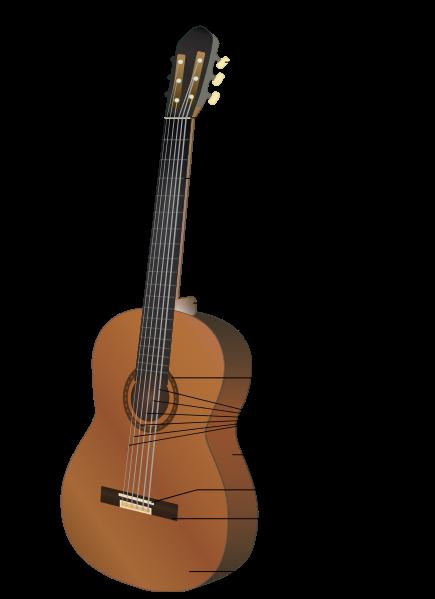 اجزای گیتار