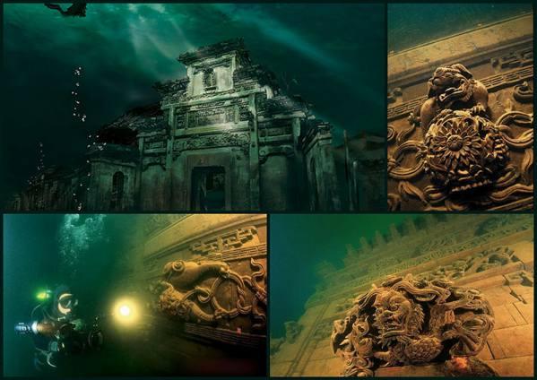 معروفترین شهرهای زیر آب
