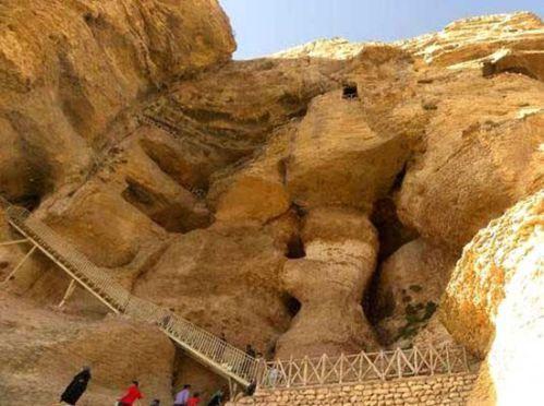 5 غار شگفت انگیز در ایران | غار کرفتو