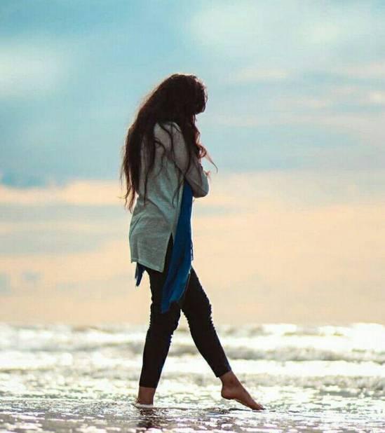 عکس پروفایل دخترونه دریا