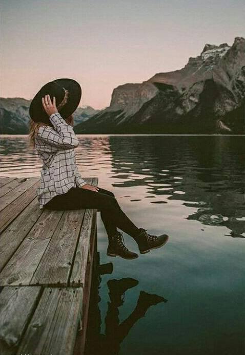 عکس پروفایل دخترونه لب دریا