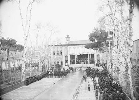 مراسم سلام نوروزی با حضور ناصرالدین شاه