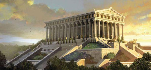 عجایب هفتگانه دنیای باستان؛ معبد آرتمیس در افه سوس، ترکیه