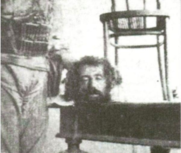 عکس واقعی از سر بریده میرزا کوچک خان