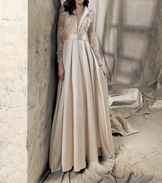 مدلهای لباس مجلسی گیپور برند kenzel