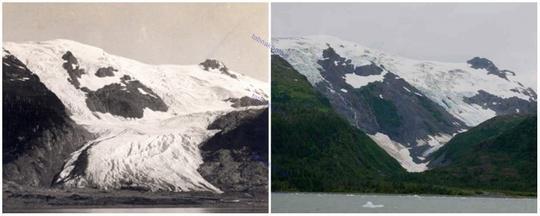 یخچال توبوگان، آلاسکا
