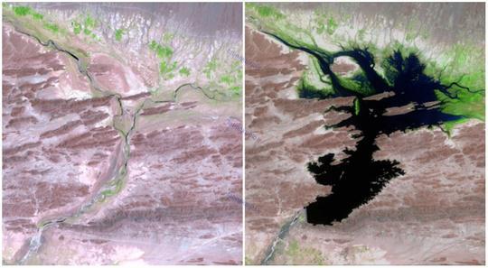 دشت رود، پاکستان