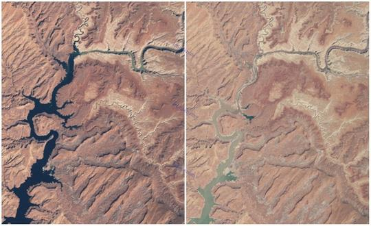 دریاچه پاول، آریزونا و یوتا