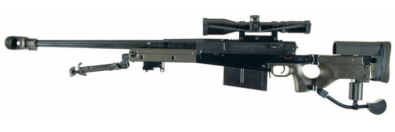 اسلحه تک تیرانداز AW-50 ساخت کشور انگلیس