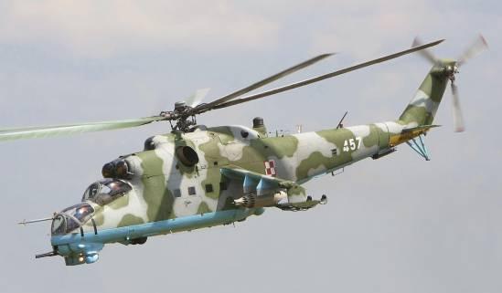 Mil Mi-24 Hind روسیه