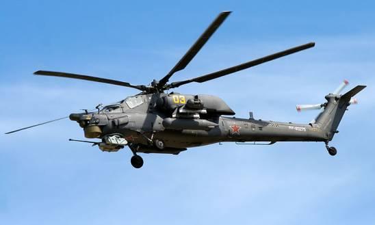 Mil Mi-28 Havoc روسیه