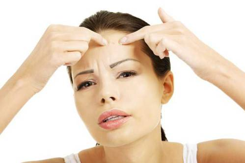 درمان جوش های زیر پوستی