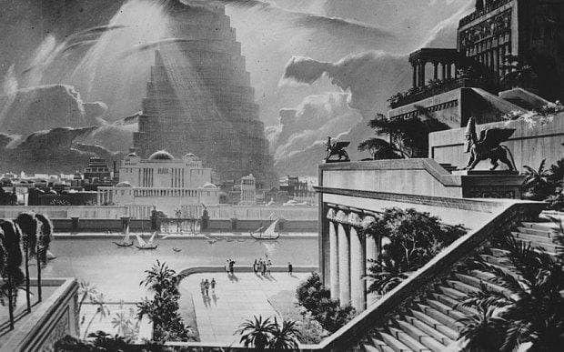 باغ معلق بابل (Hanging Gardens of Babylon)