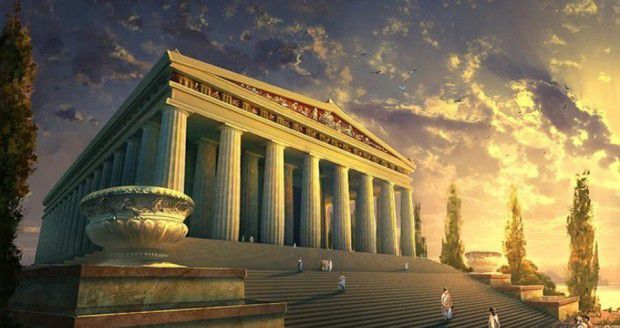 معبد آرتمیس (Temple of Artemis)