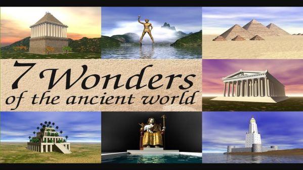 آشنایی با عجایب هفتگانه جهان باستان