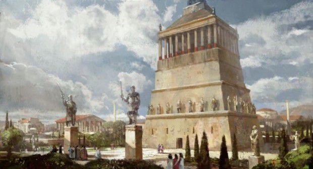 مقبره هالیکارناسوس (Mausoleum at Halicarnassus)