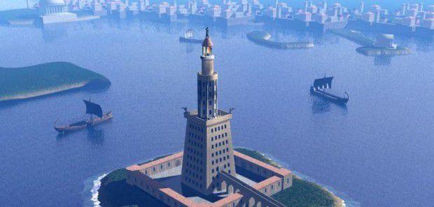 فانوس اسکندریه (Lighthouse of Alexandria)