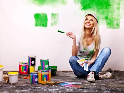 چند نکته مهم در رنگ کردن خانه